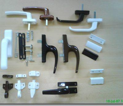 accesorii PVC - ALUMINIU