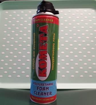 Spray pentru curatat spuma de la termopane